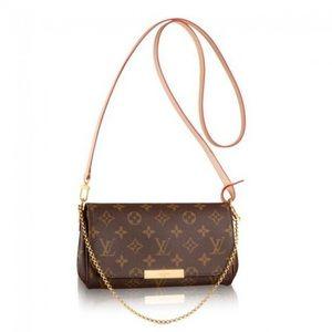 Authentic Louis Vuitton favorite PM monogram